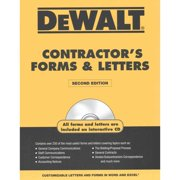 Dewaltcontractor's Forms & Letters