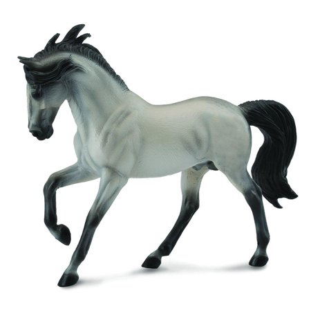 Breyer CollectA Series Grey Andalusian Stallion Model Horse - Breyer Halloween Series