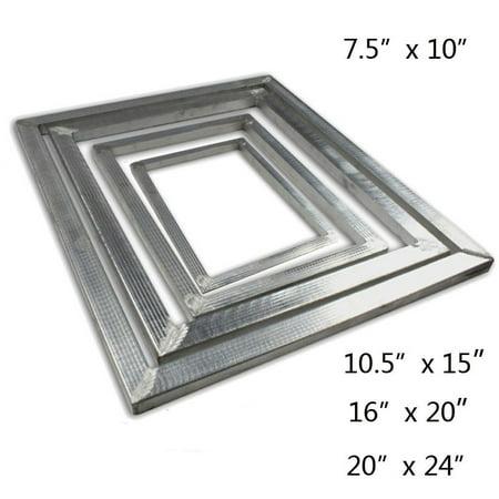 Techtongda Aluminum Screen Printing Frame DIY Screen Frame Blacnk Frame