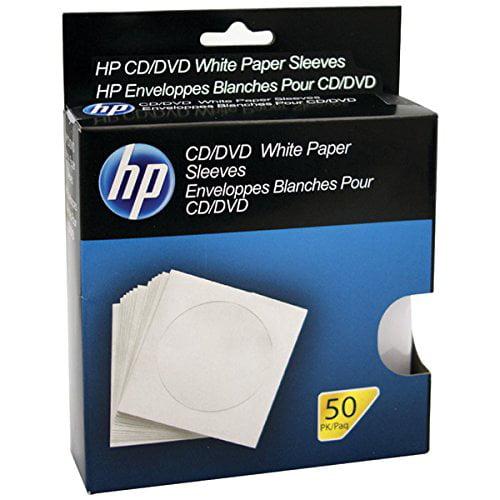 Pny HPWS50RB Hp Hpws50rb Cd/dvd Storage Sleeves [50 Pk]