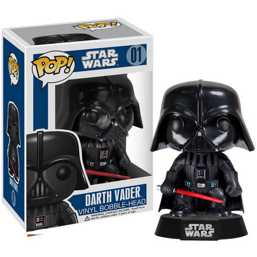 FUNKO Pop! Star Wars Darth Vader Vinyl Bobble Head Figure