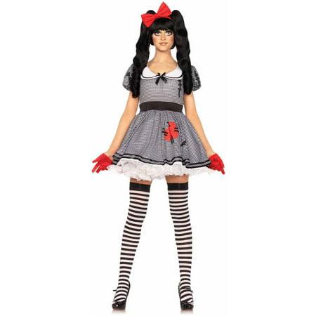 Leg Avenue 3-Piece Wind-Up Doll Adult Halloween Costume