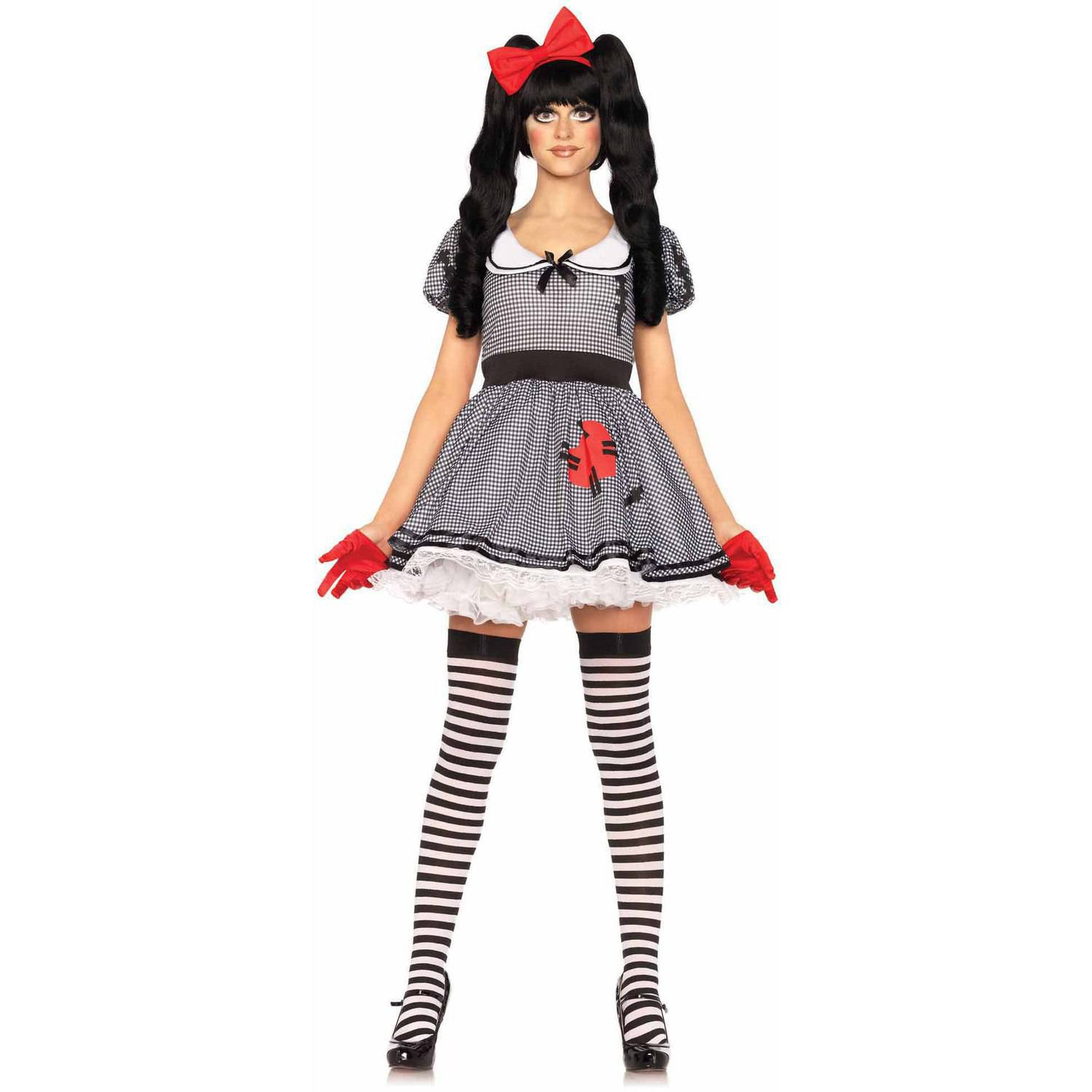 Leg Avenue 3-Piece Wind-Up Doll Adult Halloween Costume