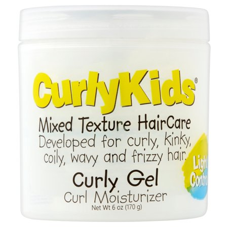 CurlyKids Mixed Texture HairCare Curly Gel Curl Moisturizer, 6 (Best Gel For Curly Hair)