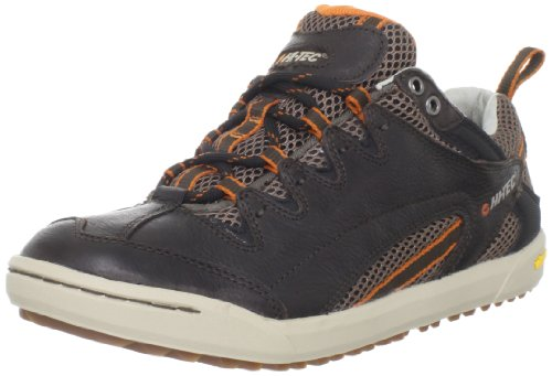 Hi-Tec Men's Sierra Sneaker Fashion Sneaker,Dark Chocolate Stone Burnt Orange,7.5 M US by Hi-Tec
