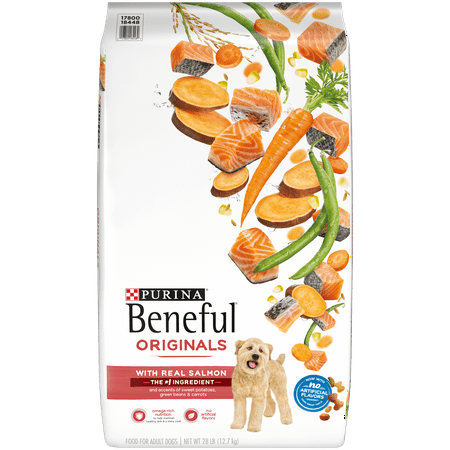 Salmon Sweet Potatoes (Purina Beneful Dry Dog Food, Originals Natural Salmon With Sweet Potatoes, Green Beans & Carrots - 28 lb.)