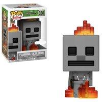 Minecraft Funko POP! Video Games Flaming Skeleton Vinyl Figure