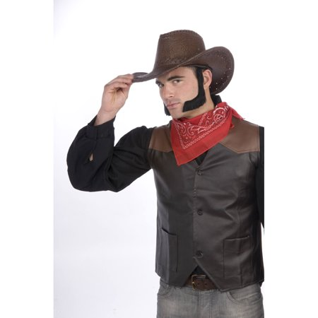 Chop Sideburns (Lambchop Sideburns - Brown Forum Novelties 67181, One)