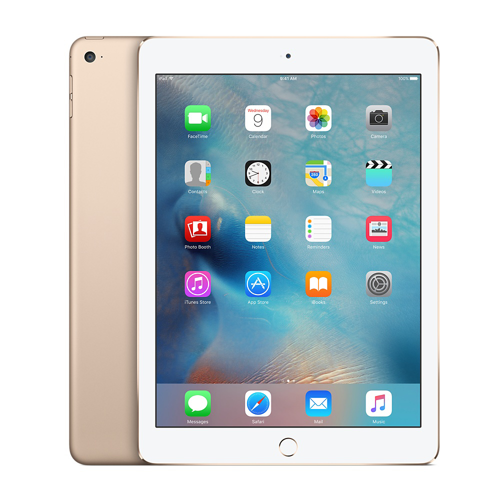 Apple iPad Air 2 9.7-inch 128GB Wi-Fi, Gold (Refurbished Grade A)