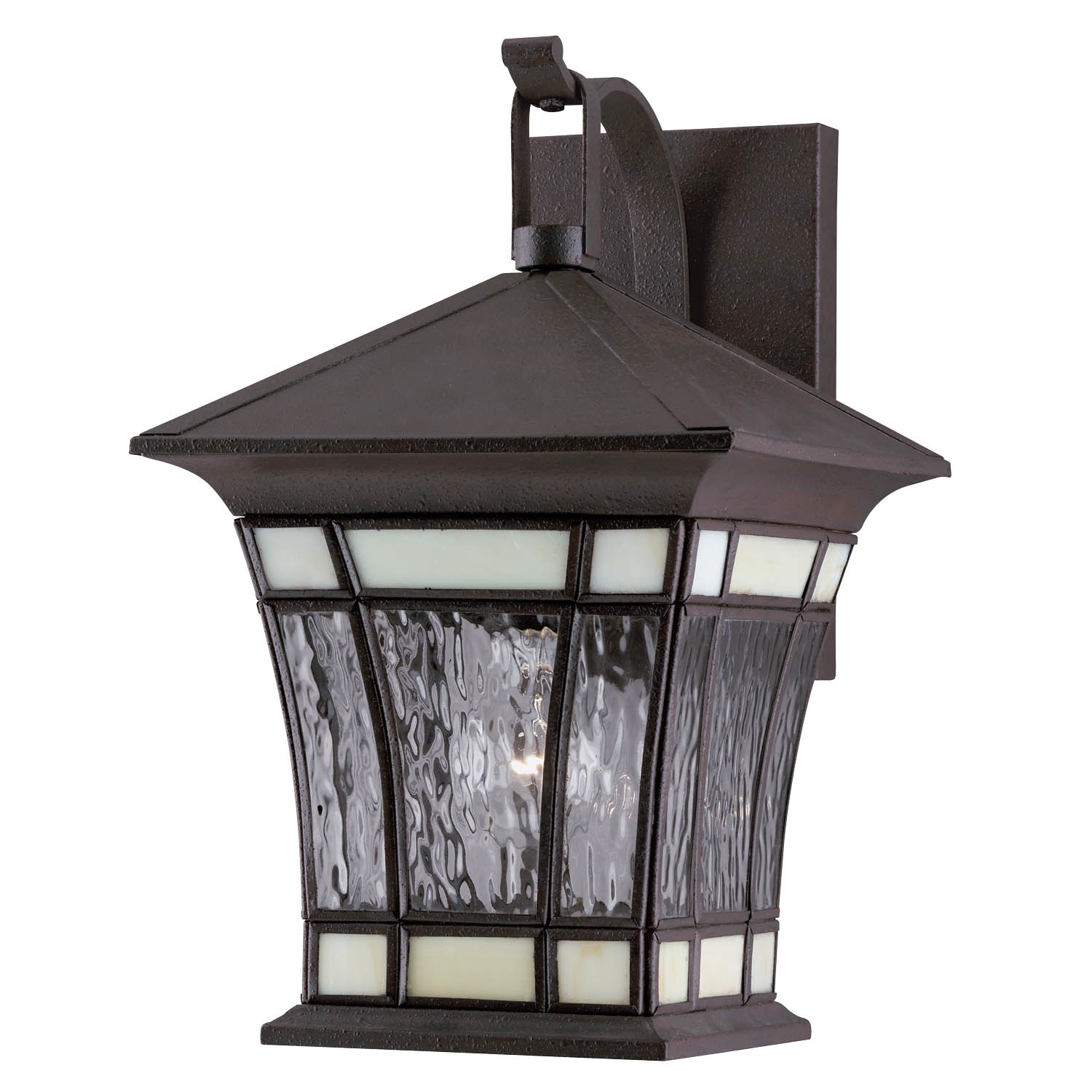 Westinghouse 6486500 One Light Rust Patina Exterior Wall Lantern