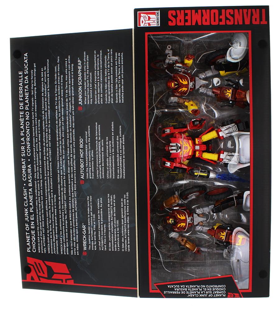 Transformers Generations Platinum Edition Planet Of Junk 3 Figure