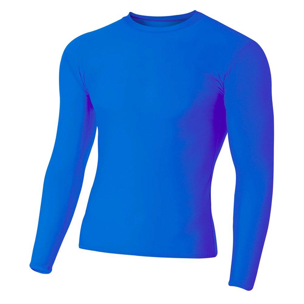 A4 - Adult Topflight Heather Performance T-Shirt - N3381