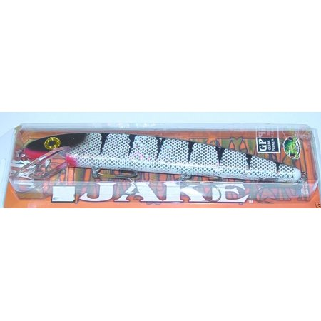 Musky mania j6 605 jake metallic scale hard bait lure for Fish scale walmart
