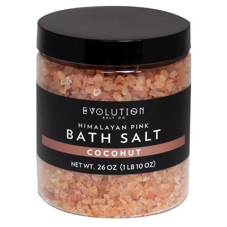 Evolution Salt Bath Salt - Himalayan - Coarse - Coconut - 26 oz