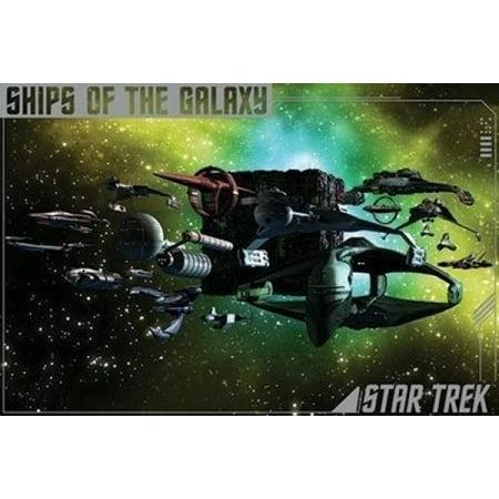 Star Trek - Ships Of The Galaxy Poster Print (36 x 24)