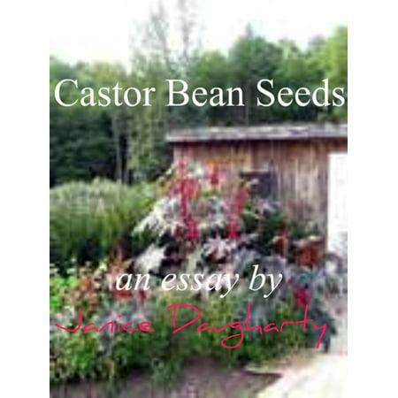 Castor Bean Seeds - eBook