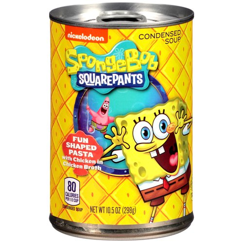 Nickelodeon Spongebob Squarepants Shaped Pasta With