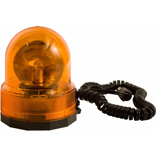 Blazer C45AW Revolving Beacon Signal Light with Magnetic Base, Amber