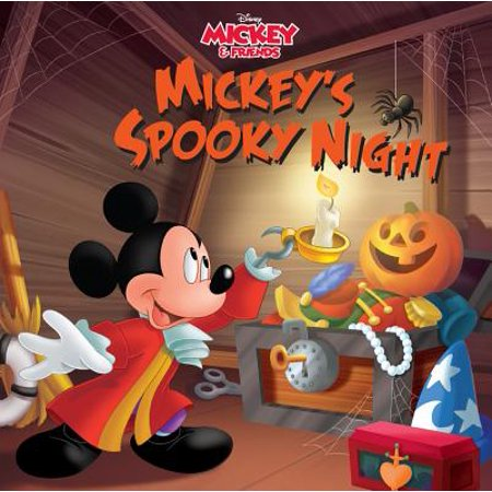 Mickey & Friends Mickey's Spooky Night : Purchase Includes Mobile App for iPhone and iPad! Read and (Calendar App That Syncs With Iphone And Android)