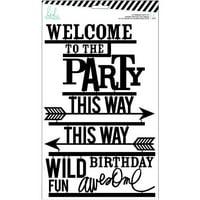 AMC HS Letterboard Kit Party Black 31pc