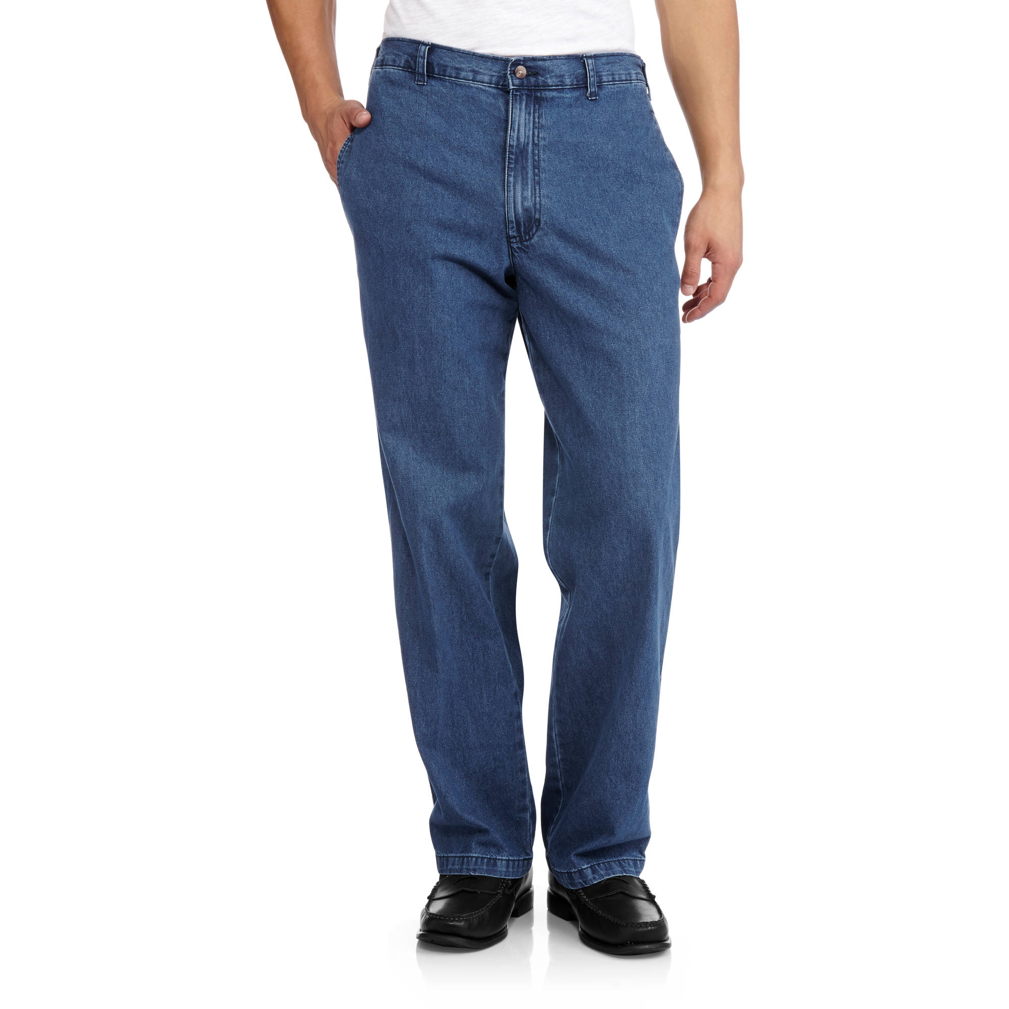 Big Men's Elastic Denim Pant