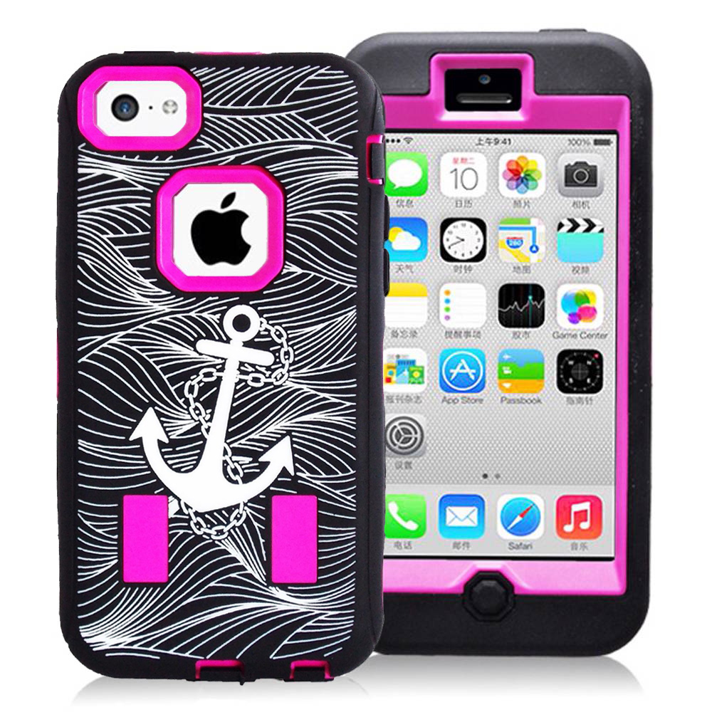 walmart iphone 5c iphone 5c anchor rubber cover pink 13272