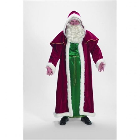 Halco 7755 Deluxe Victorian Cape and Tunic Santa Suit