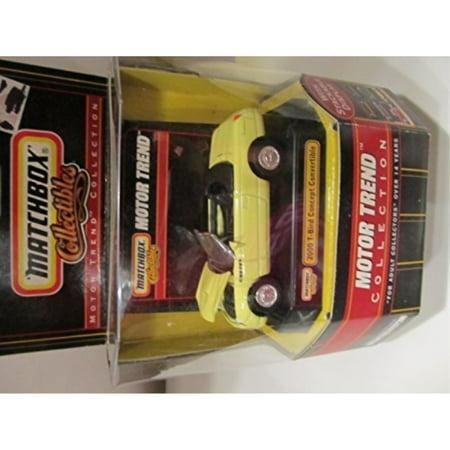 2000 T-Bird Concept Convertible Matchbox Collectibles Motor Trend Collection