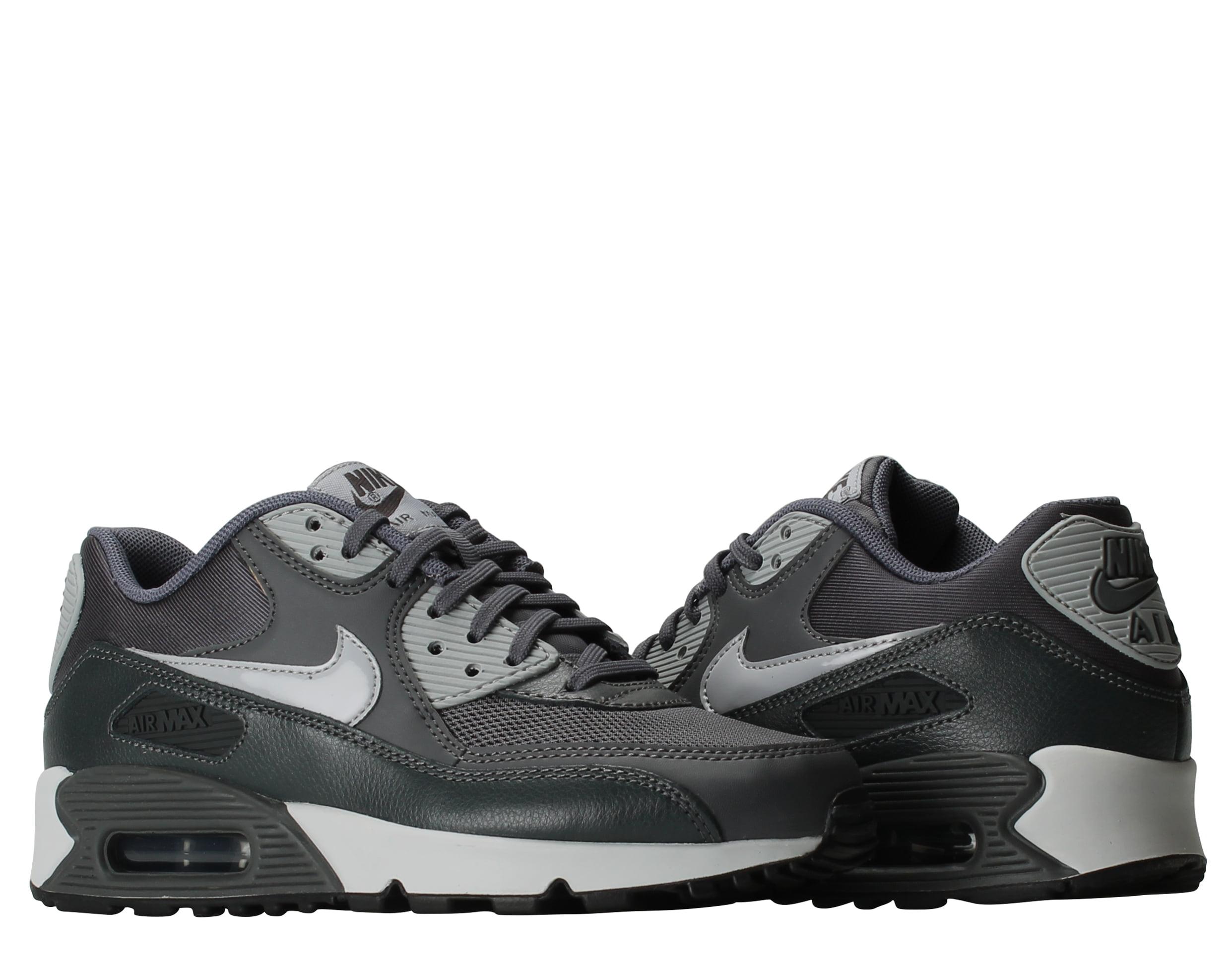 Nike Air Max 90 Essential Dark Grey Wolf Grey Women's Running Shoe 616730-030 by