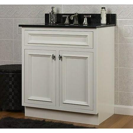 Jsi Danbury 36 White 2 Door Bathroom Vanity Cabinet Base Solid Wood Frame New