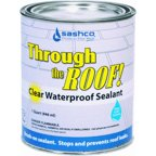Sashco Sealants 14023 Qt 1 Quart Through The Roof Sealant