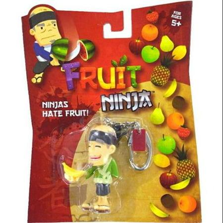 Fruit Ninja Blade Slice Banana Sensei Keychain (Slice The Fruit)