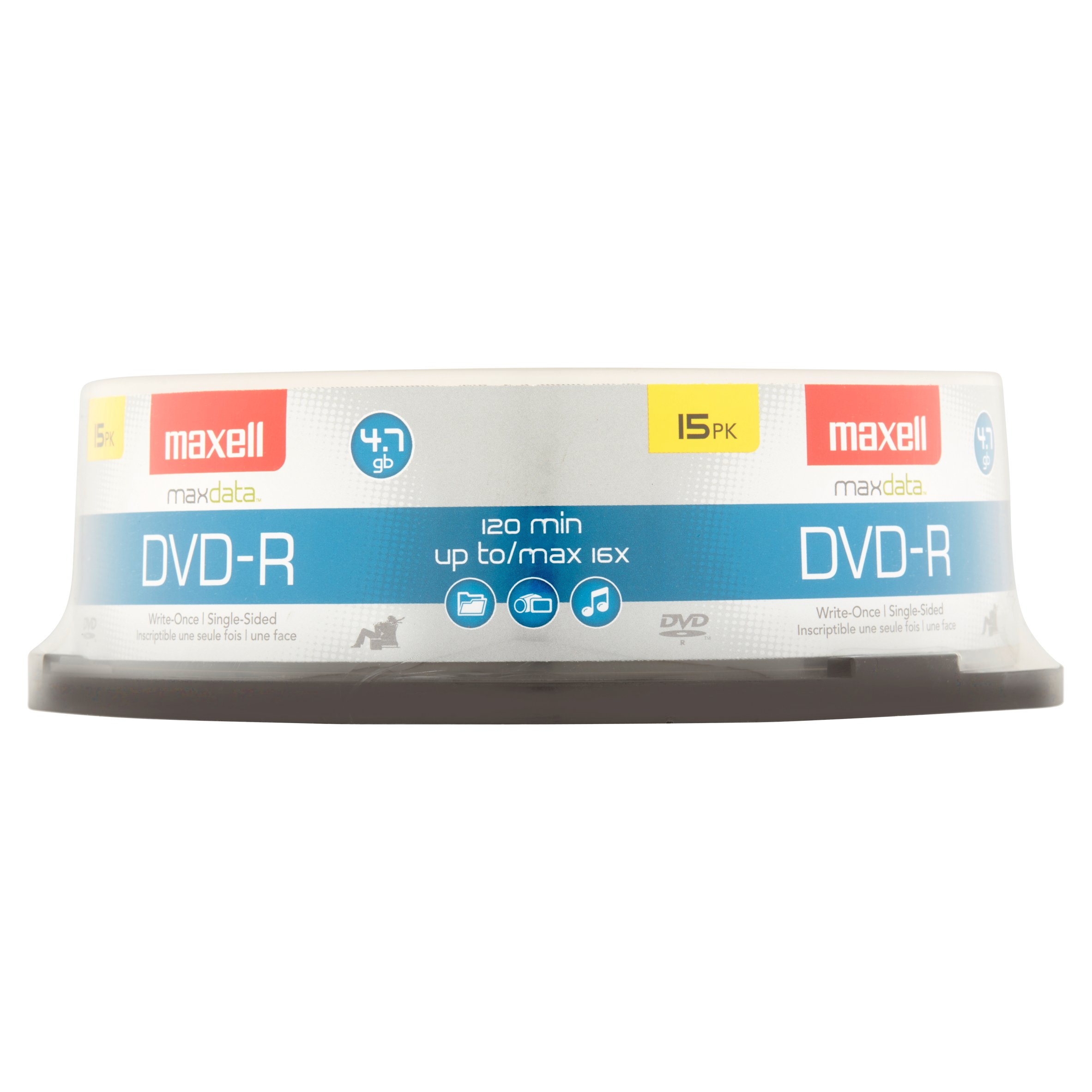 Maxell - 15 x DVD-R - 4.7 GB 16x - spindle