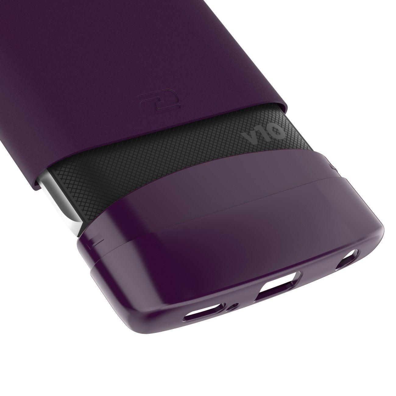 watch 58775 1bd8b LG V10 Case Case, Encased (SlimShield Series) Ultra Thin Hybrid Cover
