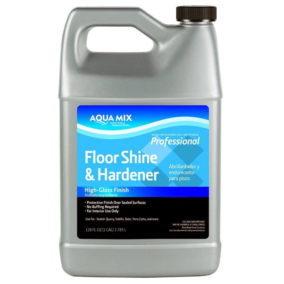 Aqua Mix Floor Shine And Hardener 1 Gallon Walmart Com
