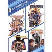 4 Film Favorites: Cop Comedy Police Academy 5: Assignment Miami Beach   Police Academy 6: City Under Siege   Police... by