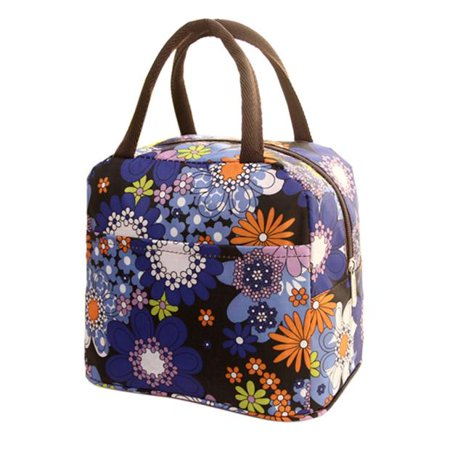 Thermal Insulated Tote Picnic Lunch Cool Bag Cooler Box Handbag Pouch PP ()