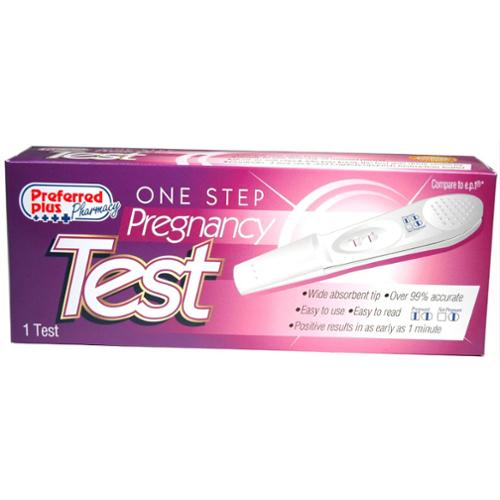 One Step Pregnancy Test Stick 1 ea (Pack of 6)