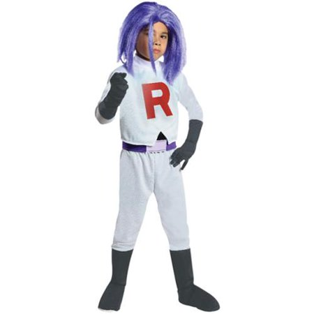 Pokemon James Team Rocket Costume Child