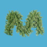 "9' x 14"" Virginia Pine Artificial Christmas Garland - Unlit"