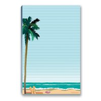 "Beach To-Do List Magnetic Notepad - 5.5"" x 8.5"" - 50 Sheets Per Pack - 45006"
