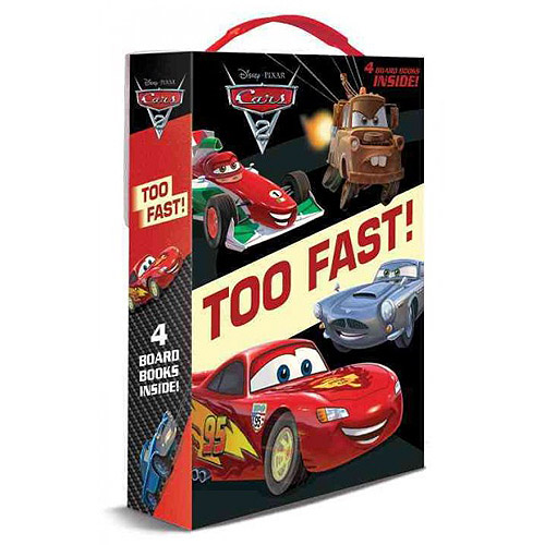 Too Fast: Lightning Mcqueen, Mater, Finn Mcmissile, Racers and Chasers
