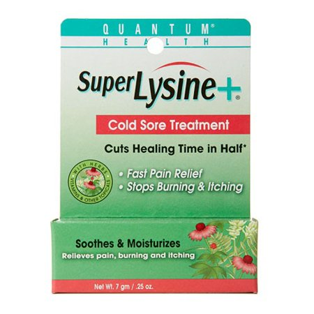 Quantum Super Lysine Plus Cold Sore Treatment - 0.25
