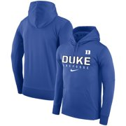 Duke Blue Devils Nike Lacrosse Performance Pullover Hoodie - Royal