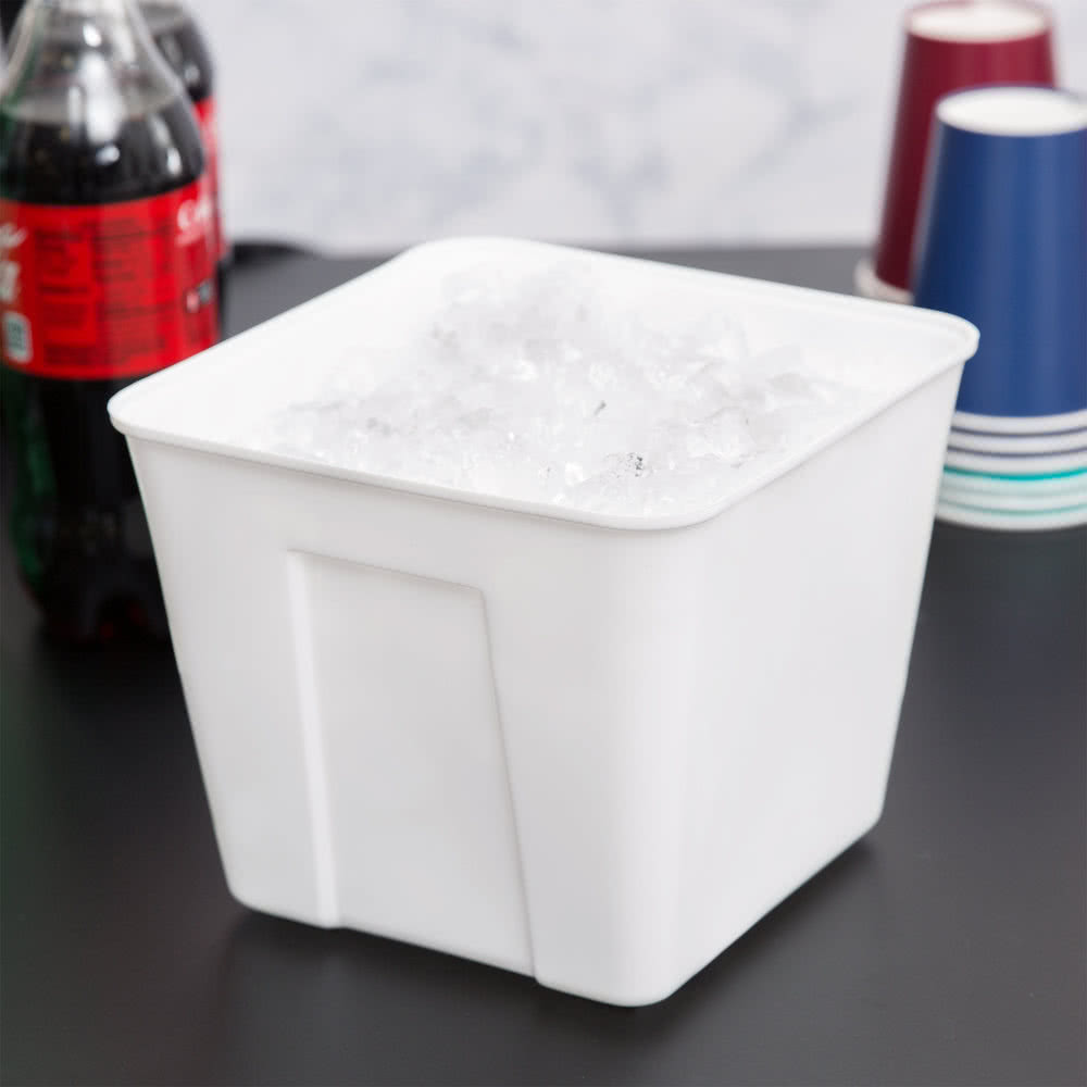 3 Qt. Plastic Ice Bucket 72   Case By TableTop King by