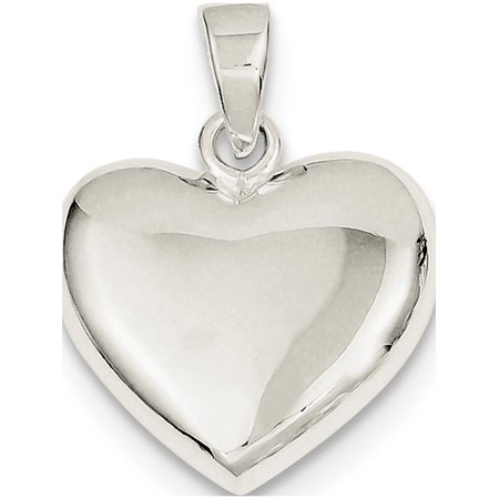 925 Sterling Silver Polished Heart (20x22mm) Pendant / Charm - image 2 de 2