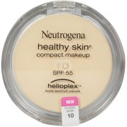 Neutrogena Healthy Skin Compact Makeup SPF 55 with Helioplex, Classic Ivory [10] 0.35 oz (Pack of 2)
