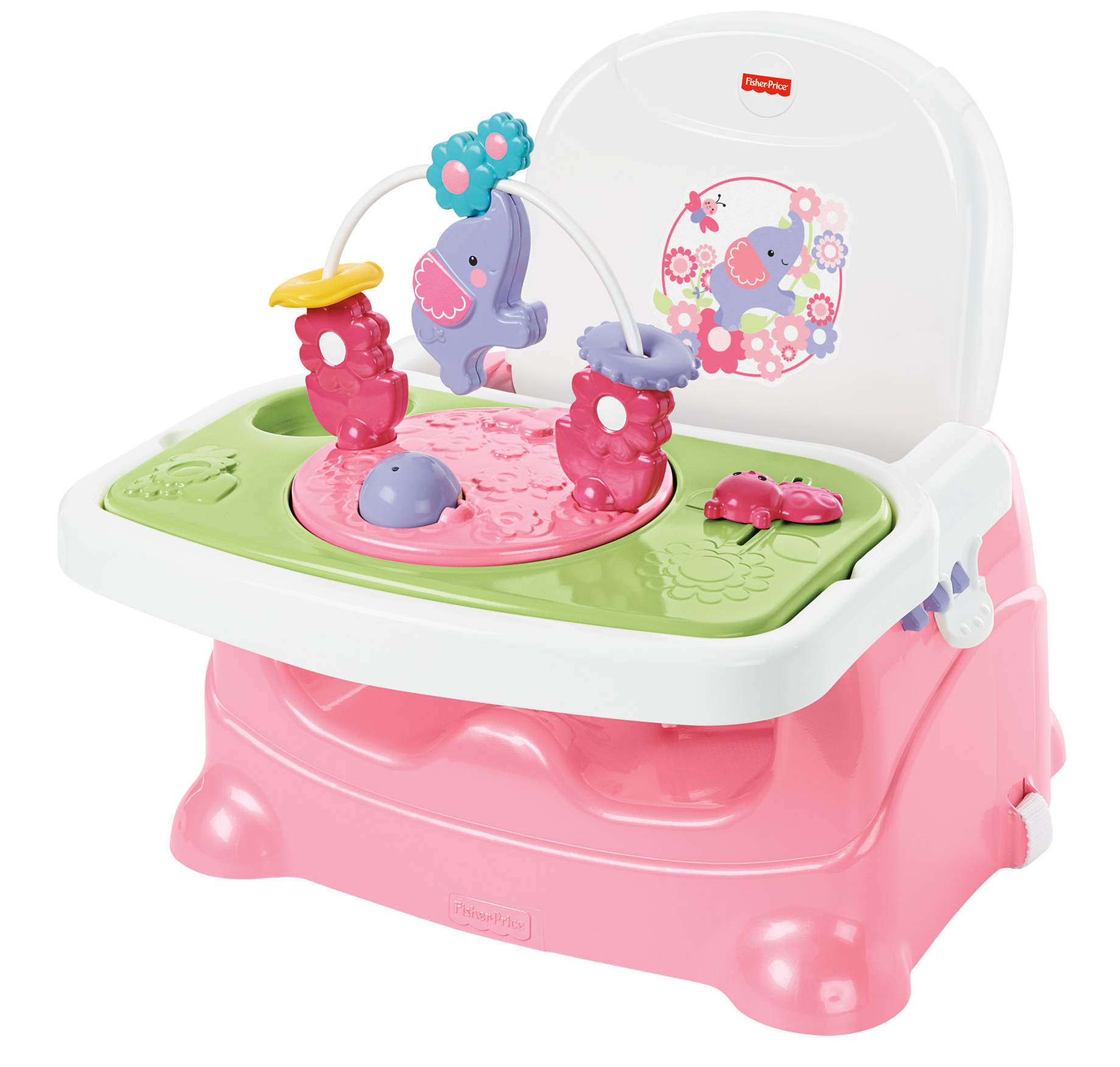 Fisher-Price Pretty in Pink Elephant Booster