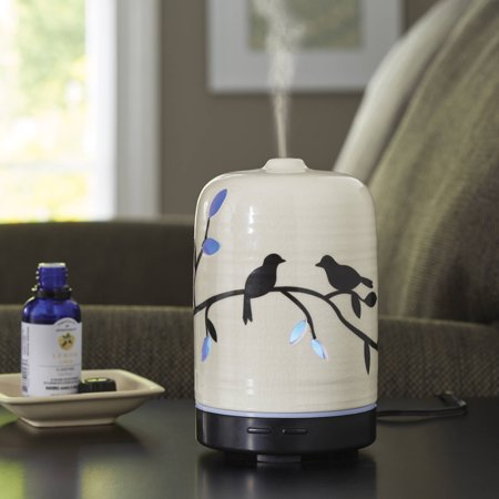 Better homes and gardens essential oil diffuser birds and branches ebay Better homes and gardens diffuser