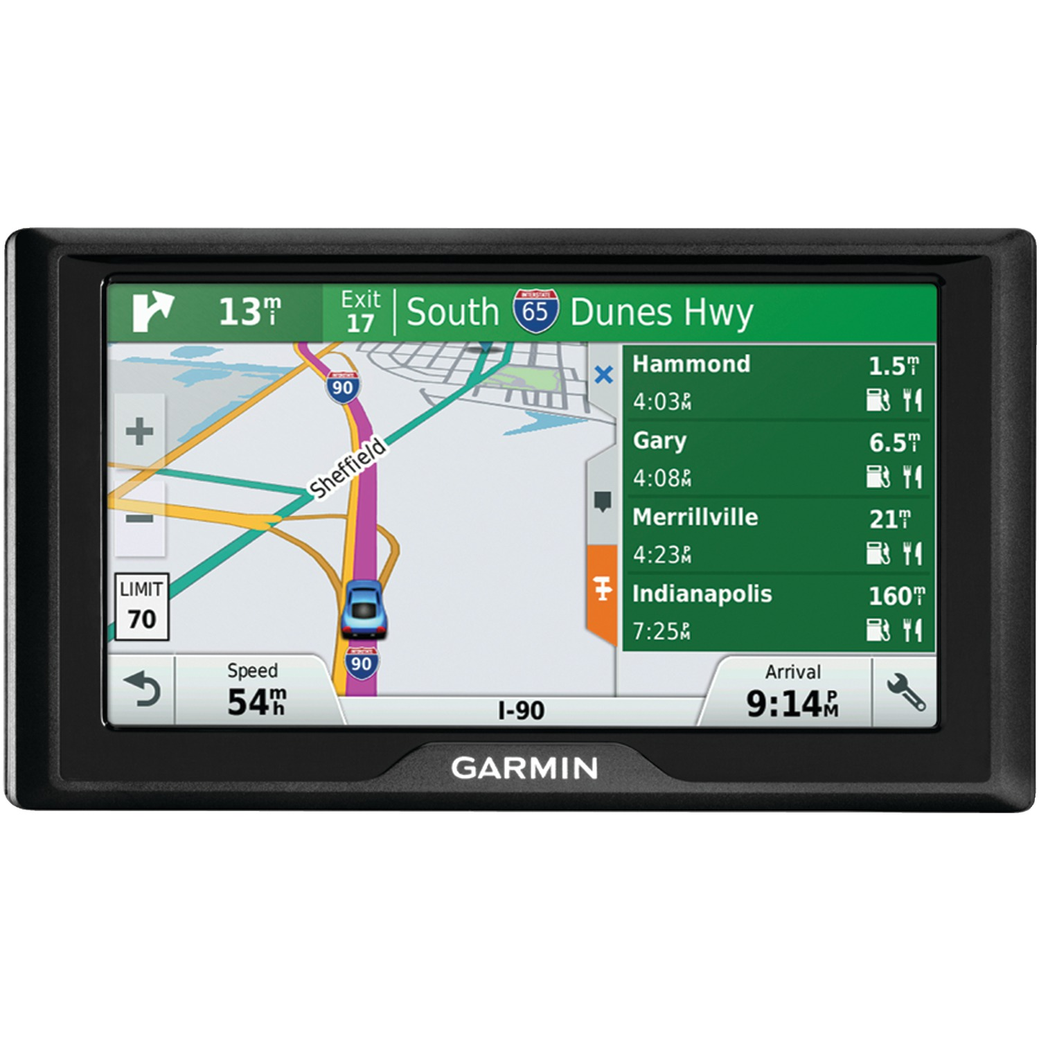 "Garmin 010-01533-0C Drive 60 6"" Gps Navigator (60lm, With Free Lifetime Maps For The Us)"
